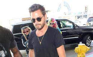 Scott Disick à l'aéroport international de Los Angeles en mai 2017