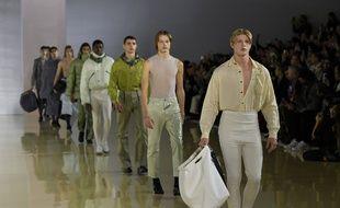 Défilé Acne lors de la Fashion week homme automne-hiver 2020-2021 de Paris, le 16 janvier 2020.