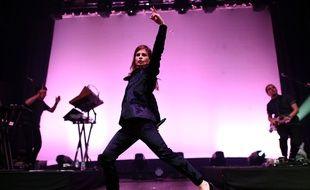 Christine and the Queens, le 11 novembre 2015, sur la scène du Webster Hall, à New York.