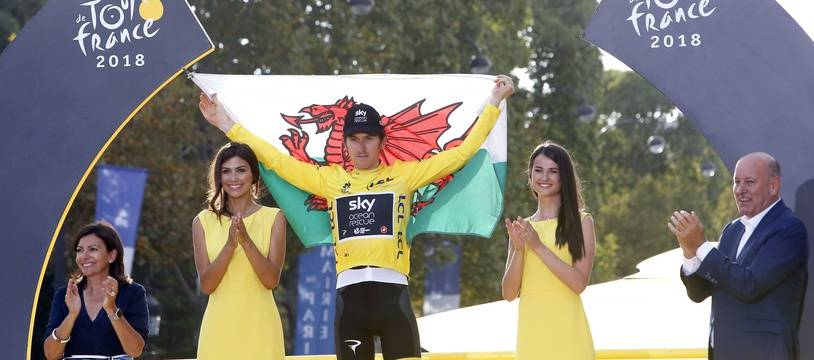 Geraint Thomas a remporté son premier Tour de France