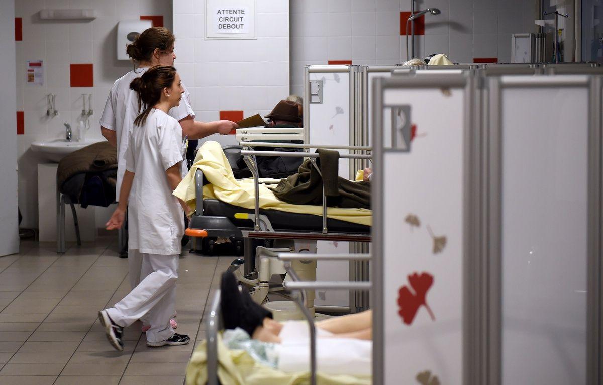 Les urgences sont surchargées par le virus de la grippe. – G.Souvant/AFP