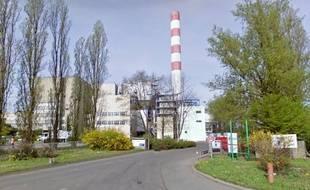 L'usine d'incinération de déchets de l'agglomération strasbourgeoise, au.