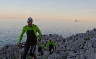 Quatre Azuréens ont battu le record de swimrun, 100 km sur terre et en mer.