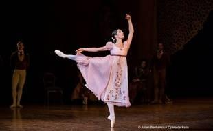 La danseuse étoile Amandine Albisson