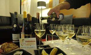 Le muscadet, vin blanc star du vignoble nantais.