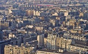 Une vue aérienne du Parc des Princes, en décembre 2013.