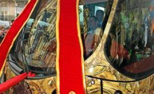 La ligne 4 du tram dévoilée au public le 22 décembre, place Saint-Denis.