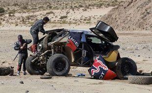 Sébastien Loeb et Daniel Elena paient pour apprendre sur le Dakar 2016.