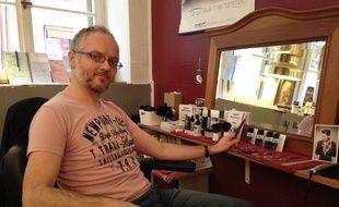 Hervé Krumenacker du Barbier de la Petite France participe à Movember.