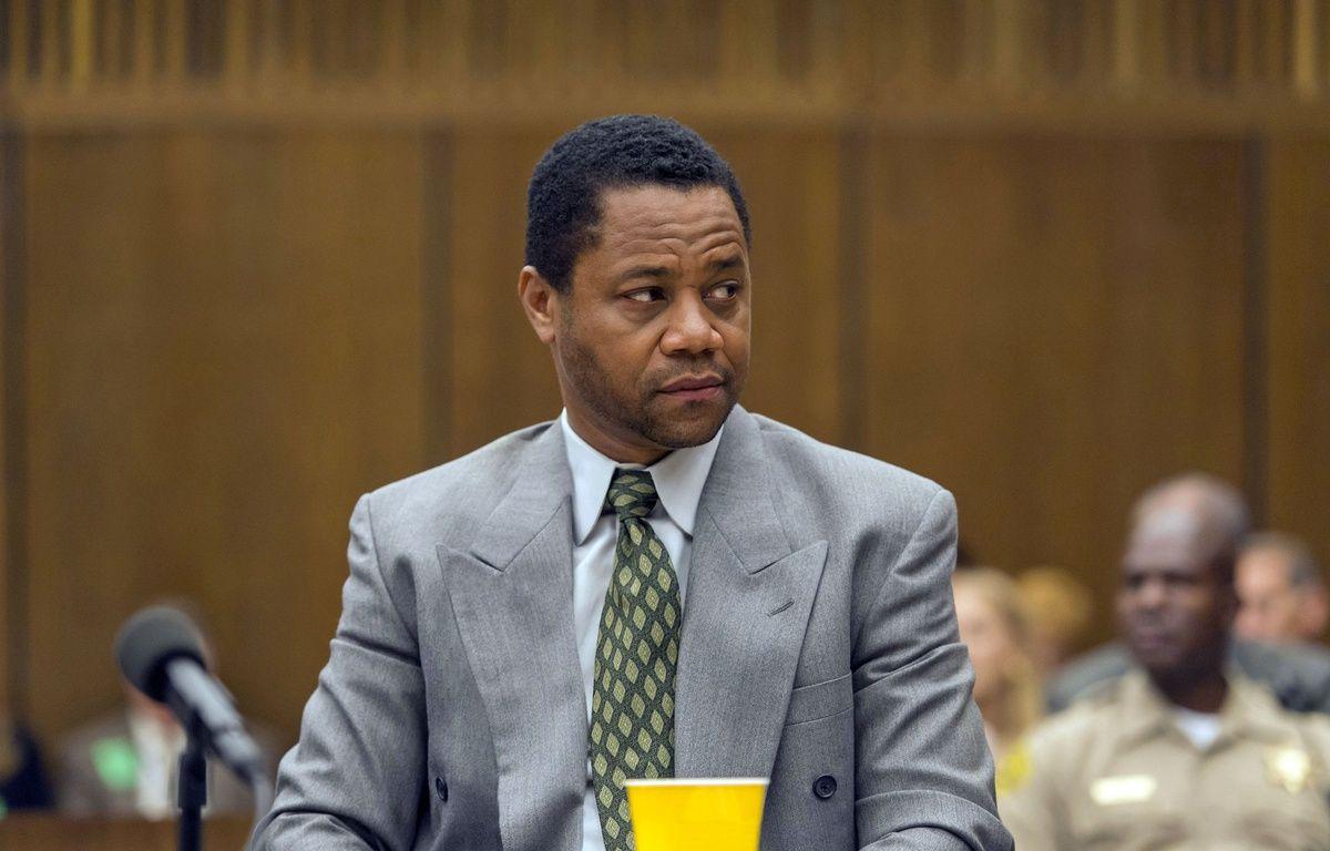 Cuba Gooding, Jr. campe O.J. Simpson dans « The People v. O.J. Simpson: American Crime Story »:.  – Fox