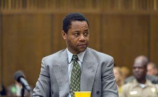 Cuba Gooding, Jr. campe O.J. Simpson dans « The People v. O.J. Simpson: American Crime Story »:.
