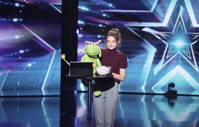 «La France a un incroyable talent» : La jeune ventriloque La Cas Pucine remporte le concours