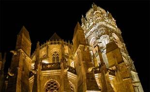 La cathédrale Notre-Dame de Rodez.