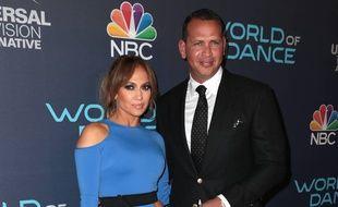 Jennifer Lopez et son petit ami, Alex Rodriguez.