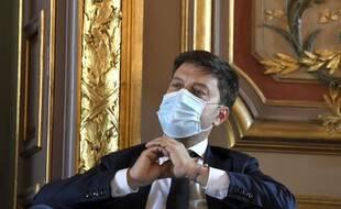 Benoît Payan, premier adjoint à la maire de Marseille, le 14 septembre 2020.