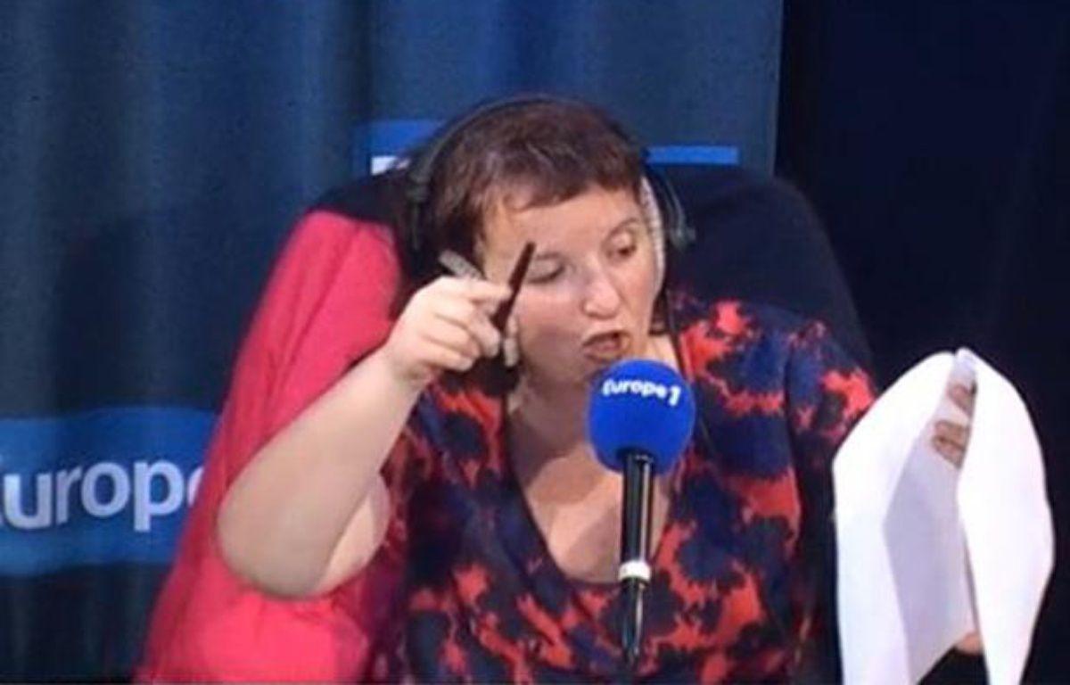 Anne Roumanoff sur Europe 1 le 3 mai 2014 – Europe 1