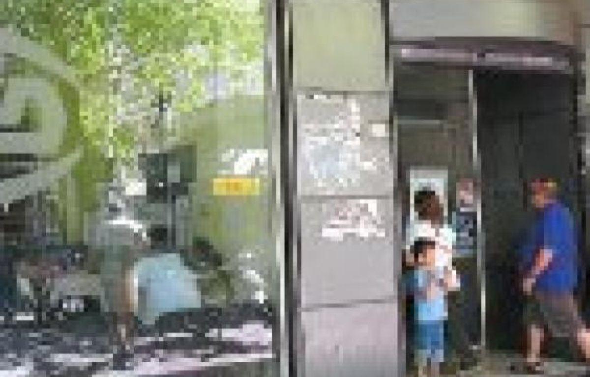 L'agence OAED d'Athènes, l'équivalent du Pôle emploi français. –  L. ROMANO / 20 MINUTES