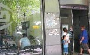 L'agence OAED d'Athènes, l'équivalent du Pôle emploi français.
