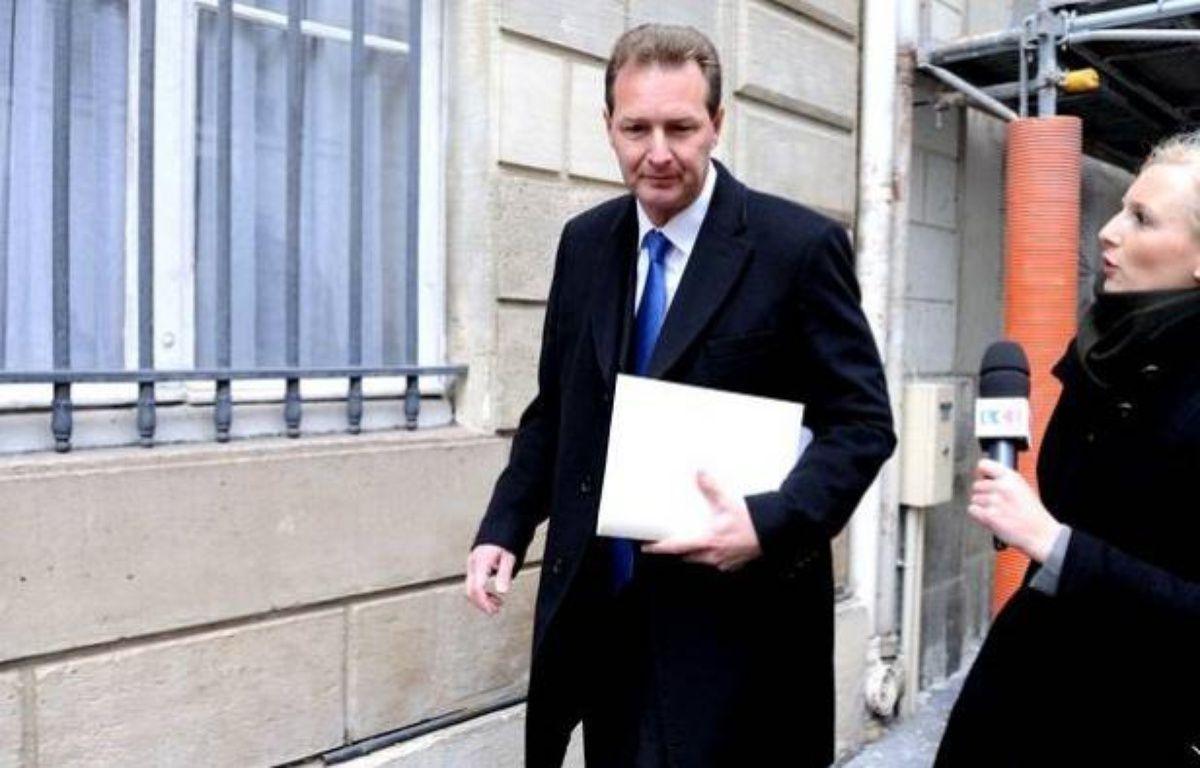 Le député UMP Lionel Tardy – WITT/SIPA
