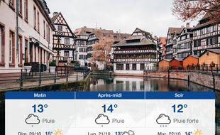 Météo Strasbourg: Prévisions du samedi 19 octobre 2019