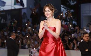 L'actrice Dakota Johnson à la 75e Mostra de Venise