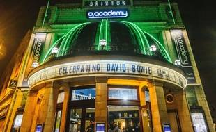 Le concert d'hommage pour les 70 ans de David Bowie a eu lieu à Brixton, dans la salle O2.