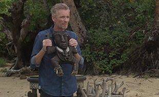 Denis Brogniart sur le tournage de «Koh Lanta: La guerre des chefs».
