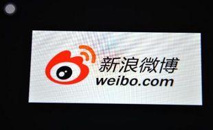 "Le logo de Weibo, le ""Twitter chinois"""