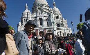 La Butte Montmartre fait partie des hauts lieux touristiques de Paris à faire l'objet d'un renforcement policier cet été.