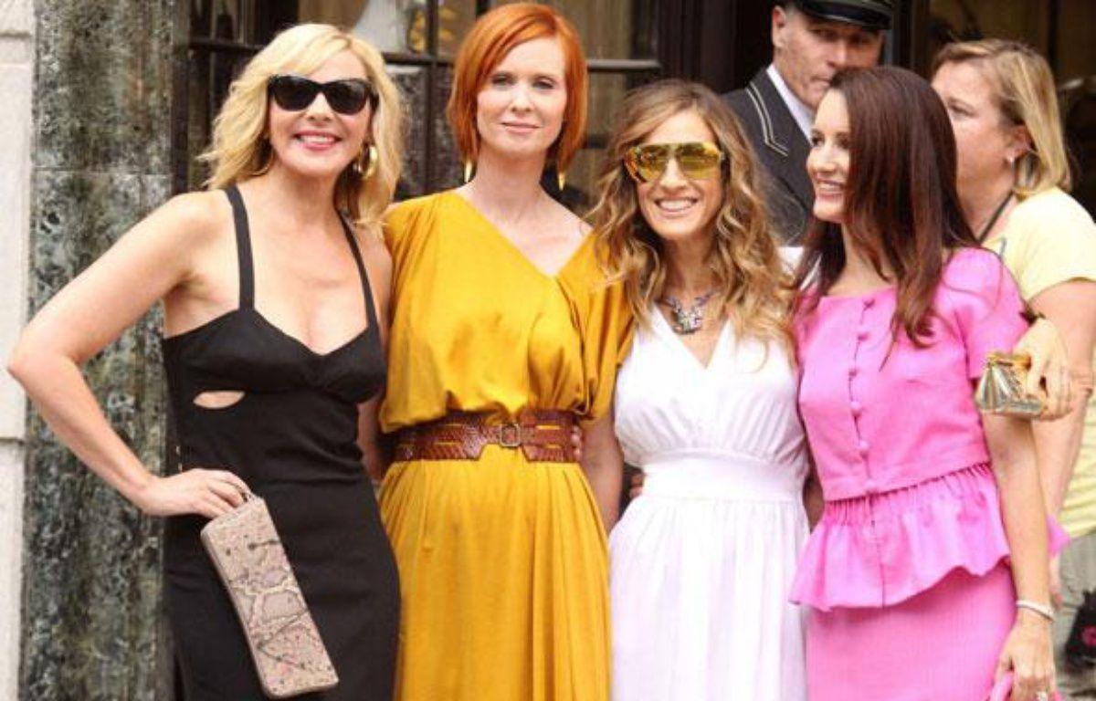 Les actrices de «Sex & the City 2» le 9 septembre 2009. – ADMEDIA/SIPA