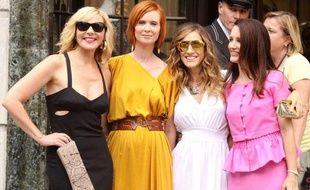 Les actrices de «Sex & the City 2» le 9 septembre 2009.