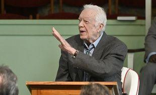 L'ancien président américain Jimmy Carter.