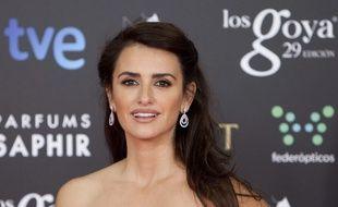 Penélope Cruz, le 7 février 2015 aux Goya Awards