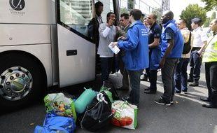 70 familles de migrants, issus de la jungle de Calais, doivent être accueillis dans le Gard.