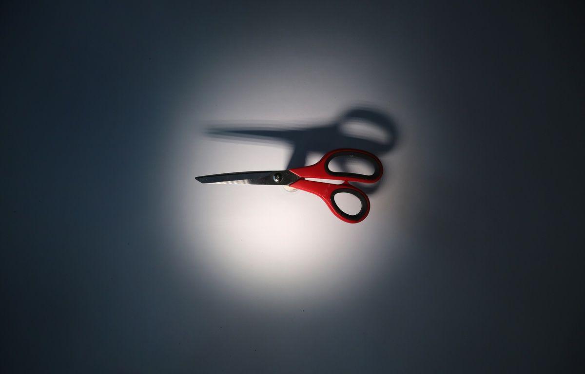 Illustration d'une paire de ciseaux. – JOHN MOORE / GETTY IMAGES NORTH AMERICA / AFP
