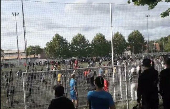 Déconfinement à Strasbourg : Malgré l'interdiction, 400 personnes assistent à un match de foot entre-quartiers