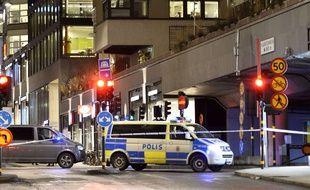 Police en Suède (illustration)