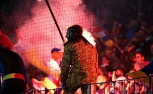 On ne verra pas cette magnifique ambiance (et ce magnifique pyjama) au Vélodrome.