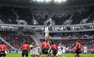 Le premier match de l'UBB au Matmut Atlantique face à Toulon avait attiré 38.000 spectateurs.