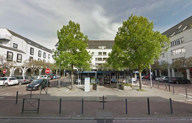 Voilà à quoi ressemblait la place de la Galarne, sur l'île de Nantes