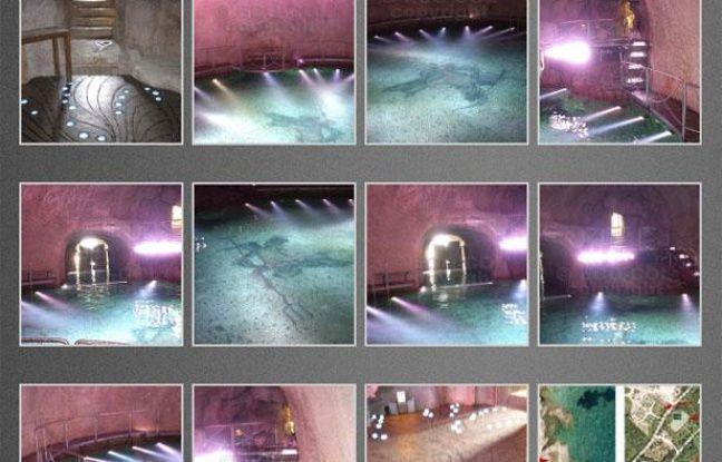 Les photos de la grotte de Silvio Berlusconi, publiées sur le le blog d'un paparazzi italien