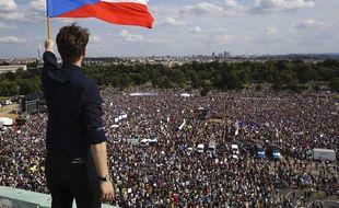 Malgré l'ampleur de la manifestation, le Premier ministre tchèque refuse de démissionner