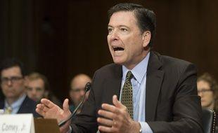 L'ex chef du FBI James Comey le 3 mai 2017 devant la commission de justice du Sénat à Washington.