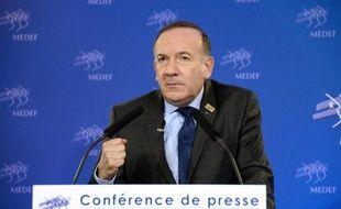 Pierre Gattaz, le 17 février 2015 à Paris