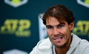Touché aux abdos, Nadal a dû déclarer forfait avant sa demi-finale du tournoi de Bercy.