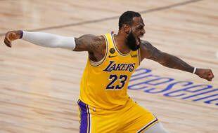 LeBron James peut exulter, les Lakers y sont presque.