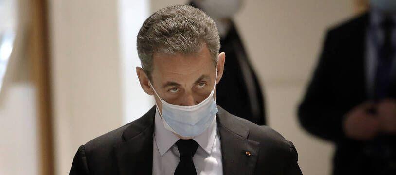 Nicolas Sarkozy au palais de justice de Paris, le 13 novembre 2020 (illustration).