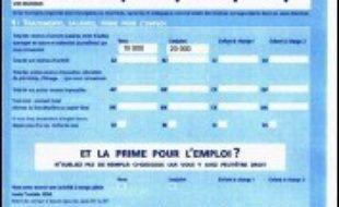 Les Français vont recevoir à partir de cette semaine et jusqu'à début mai leur déclaration de revenus 2005, qui pour la première fois sera cette année préremplie dans la grande majorité des cas.