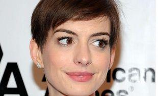Anne Hathaway le 11 décembre 2012.