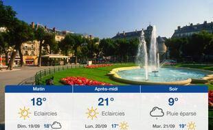 Météo Grenoble: Prévisions du samedi 18 septembre 2021